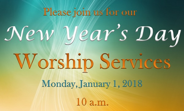 2018 New Year's Day Worship Service